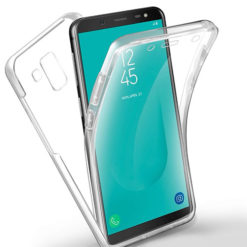 Samsung Galaxy J6 Plus 2018 360º PC & TPU Full Case With Protective Screen Cover