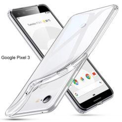 Google Pixel 3 Ultra Thin TPU Gel Case