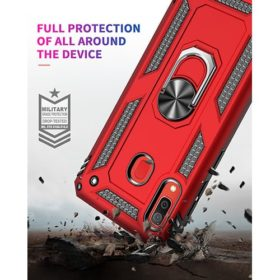 Samsung Galaxy A30 5G Hybrid Dual-Layer Armor Case With Magnetic Ring Stand