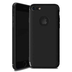 iPhone 6 / 6s Max Matte Black Cross Pattern TPU Gel Case