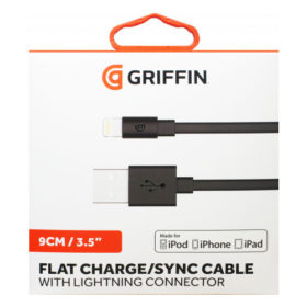 Griffin 9CM Lightning Cable MFI Approved Charge / Sync Cable