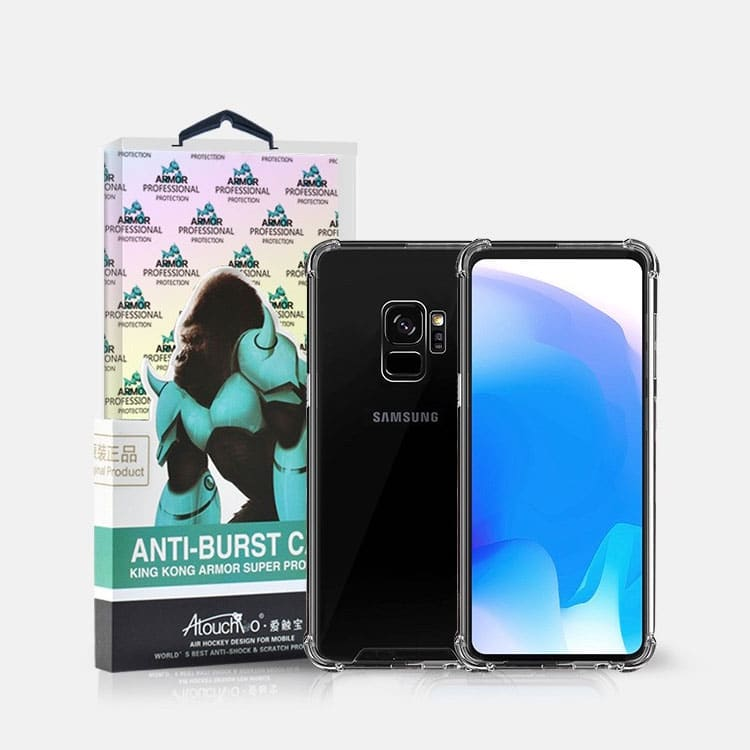 Samsung Galaxy S9 Plus King Kong Anti-Burst Super Protection Shockproof TPU Gel Case